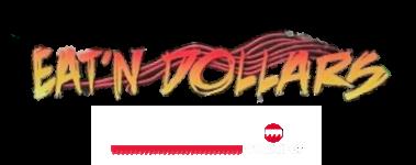 Eat'n Dollars Motorsports – Sponsored by Sawblade.com Logo